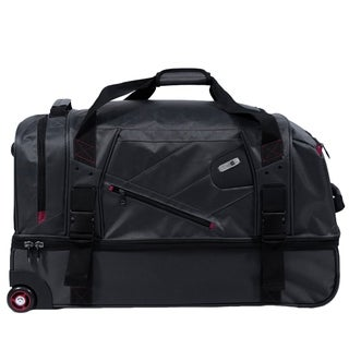 Ful Tour Manager Deluxe 30in Rolling Duffel Bag, Grey