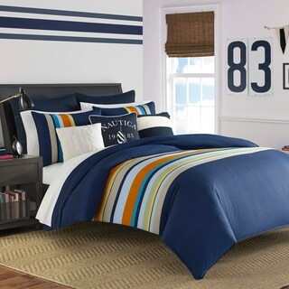 Nautica Heritage Sailing Stripe Comforter Set