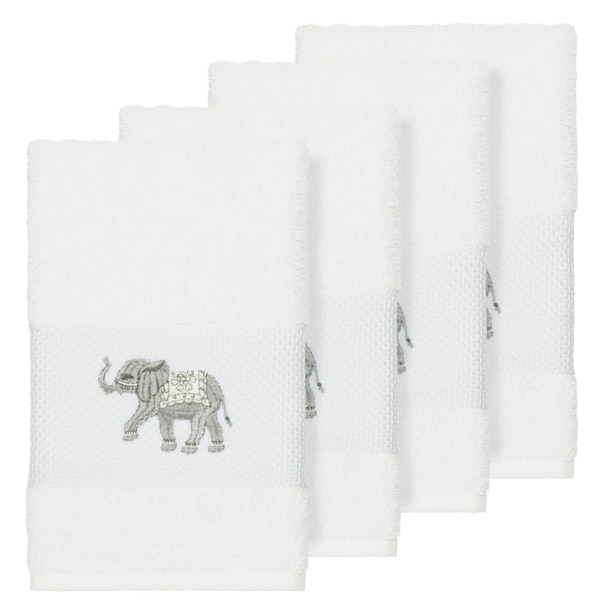 Shop Authentic Hotel And Spa Turkish Cotton Elephants Embroidered