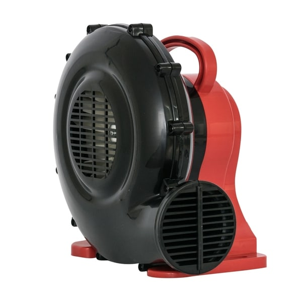 XPOWER BR-15 1/4 HP Indoor Outdoor Inflatable Blower Fan for Bounce House Jumper Game and Display Structures