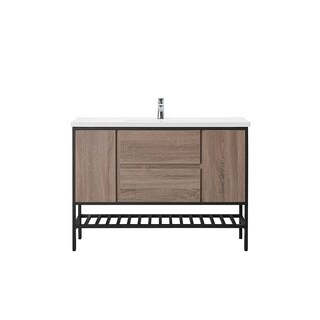 OVE Decors Memphis 48 Taupe Single Sink Vanity