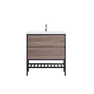 OVE Decors Memphis 32 Taupe Single Sink Vanity