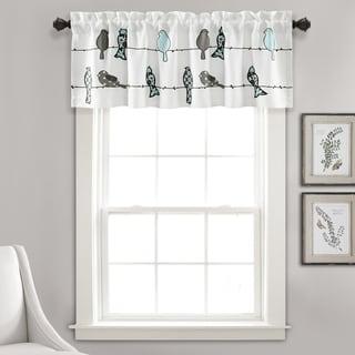 Window Valance Lake Words Bathroom Home Decor 1-Pc