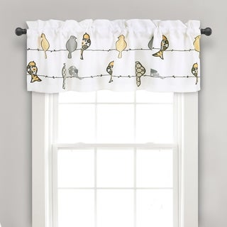 Lush Decor Rowley Birds Valance