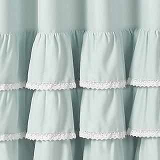 Shop Vcny Melanie Ruffle Shower Curtain On Sale Free