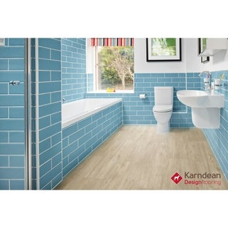 Canaletto by Karndean Designflooring - Summer Wheat Oak Waterproof Loose Lay LVT 41.3x9.85/12 pcs/33.89 sqft