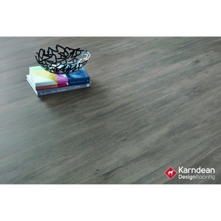 Canaletto by Karndean Designflooring - Classic Gray Oak Pet Friendly, Waterproof Gluedown LVT