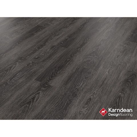 Canaletto by Karndean Designflooring - Midnight Oak Pet Friendly, Waterproof Locking LVT