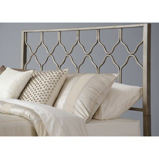 Honeycomb Deluxe Brushed Gold Headboard