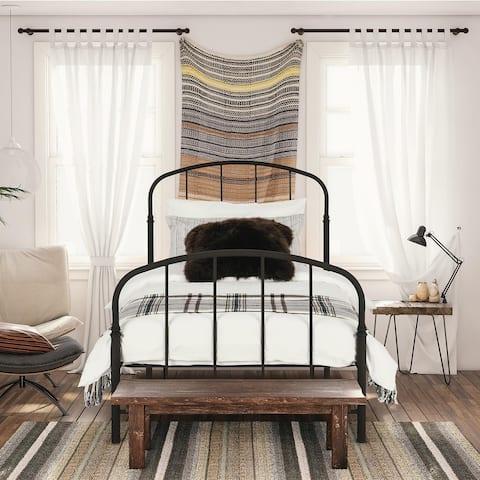 The Gray Barn Latigo Bronze-finished Metal Bed