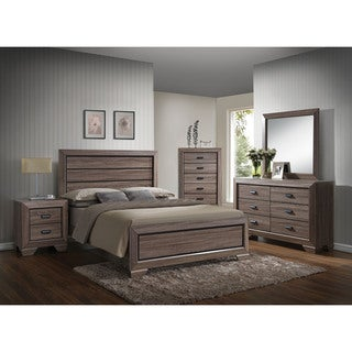 Link to The Gray Barn Pickford Weathered Grey Bed Similar Items in Bedroom Furniture
