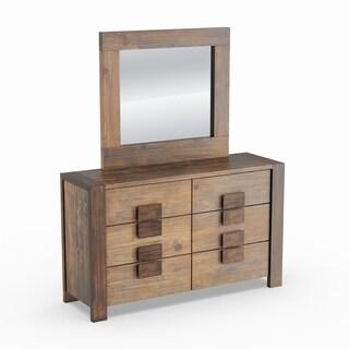 Carbon Loft Mattie 2-piece Rustic Dresser and Mirror Set