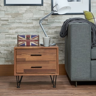 Link to Carson Carrington Gundsomagle Multicolored 2-drawer Nightstand Similar Items in Bedroom Furniture