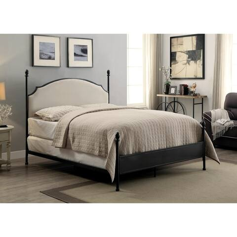 The Gray Barn Epona Contemporary Arched Four Poster Bed