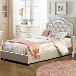 Link to Silver Orchid Heston Bed Set with Rails Included Similar Items in Bedroom Furniture
