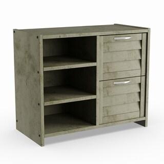 Pine Canopy Matthiola Antique Grey 2-drawer Chest