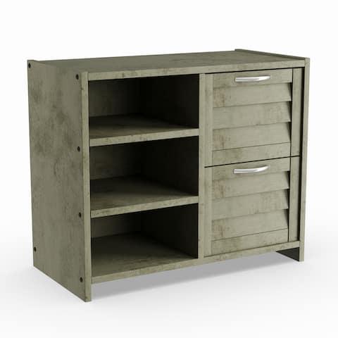 Taylor & Olive Dardanelle Antique Grey 2-drawer Chest