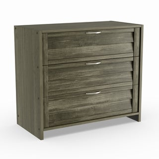Taylor & Olive Griggs Antique Grey 3-drawer Chest