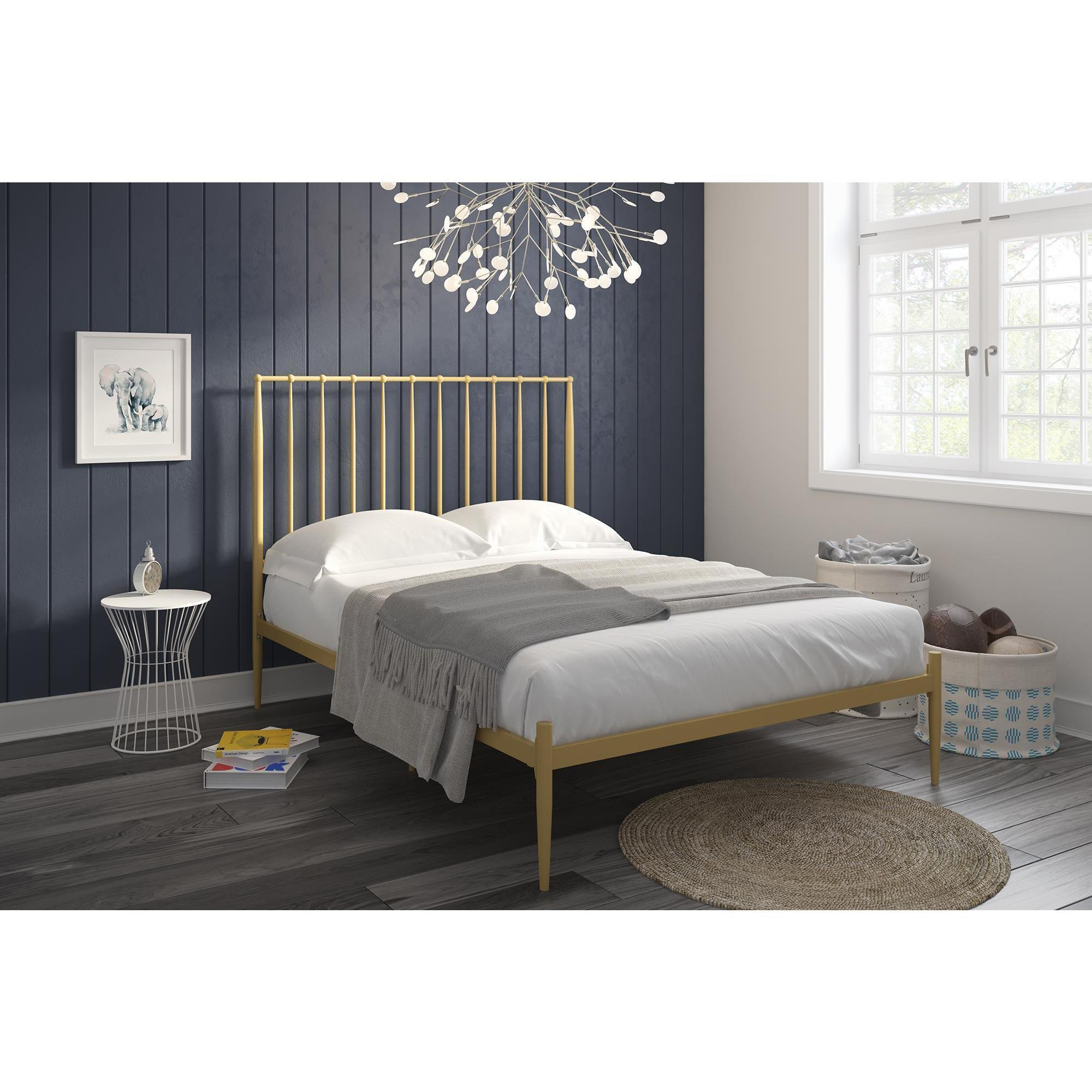 The Curated Nomad Hillard Modern Metal Bed On Sale Overstock 21906894