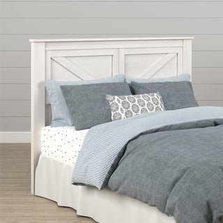 The Gray Barn Latigo Weathered Oak Queen Headboard