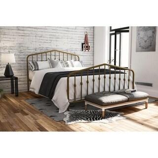 The Gray Barn Latigo Metal Platform Bed