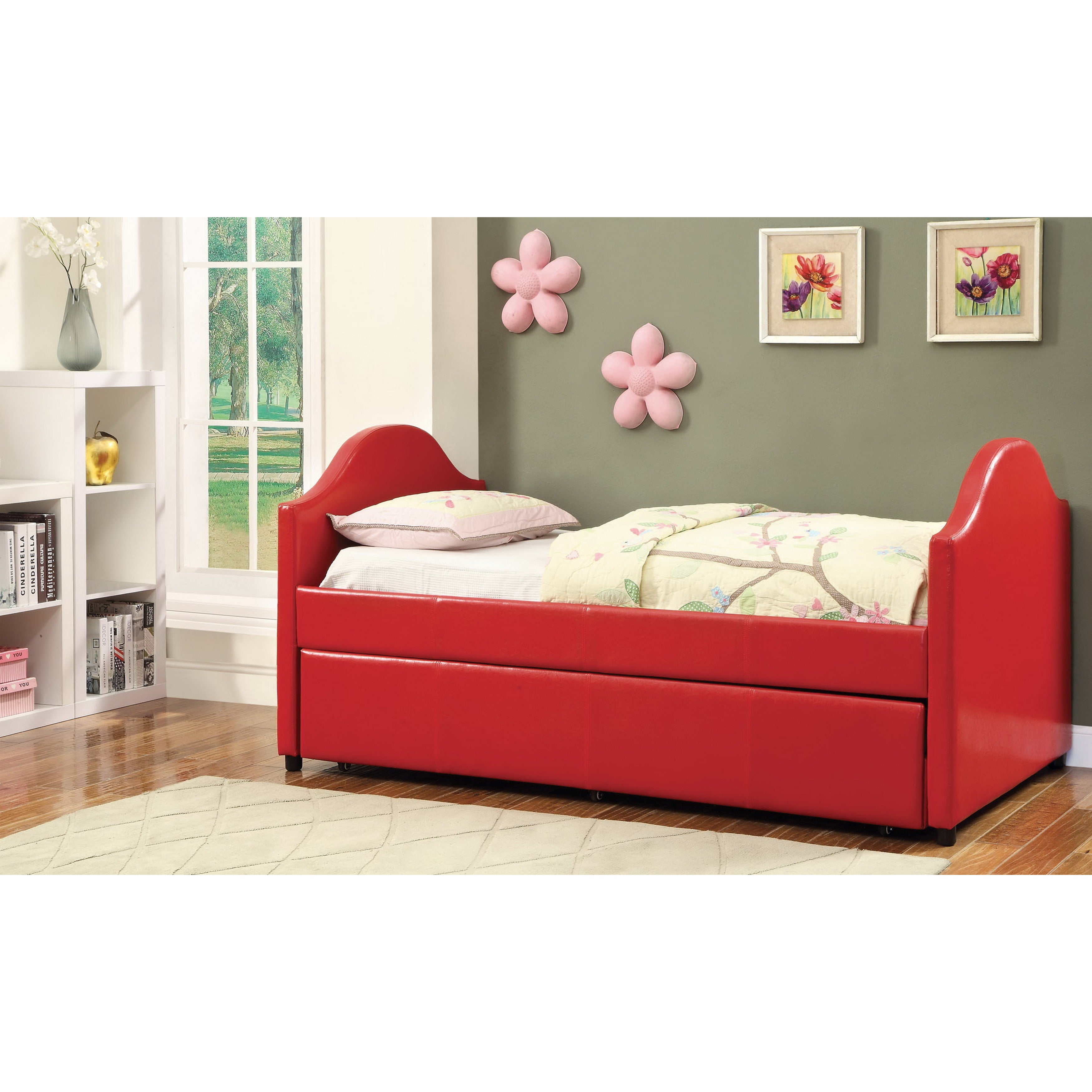 America Myon White Twin 2 Piece Daybed