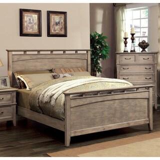 The Gray Barn Epona Weathered Oak Platform Bed