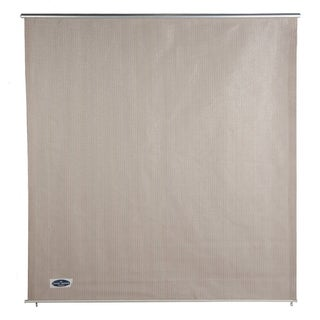 Cool Area 6' X 6' Window Sun Shade Sail with Installation Hardware Kit,UV Block Window Blind,Cabo Sesame