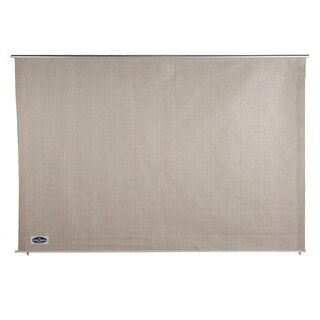 Cool Area 8' X 6' Window Sun Shade Sail with Installation Hardware Kit,UV Block Window Blind,Cabo Sesame
