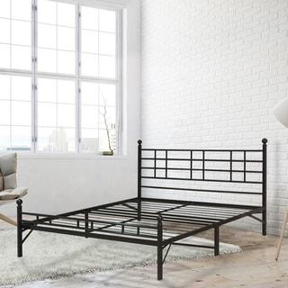 Porch & Den Radcliffe Full size Steel Platform Bed