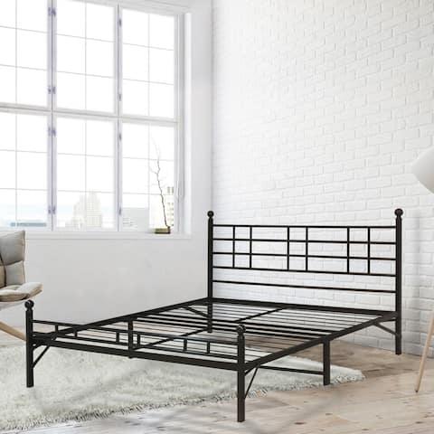 Porch & Den Radcliffe Queen-size Steel Platform Bed
