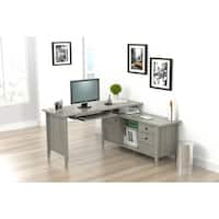 Inval L Shaped Computer Writing Desk