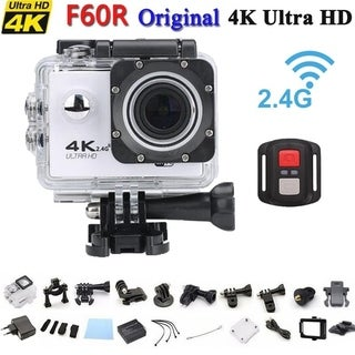 Sport Action Camera Camcorder with Waterproof Housing Case & Remote Controller