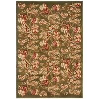 Safavieh Lyndhurst Traditional Floral Sage Rug - 5'3 x 7'6