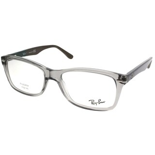 Ray-Ban Rectangle RX 5228 5546 Unisex Grey Frame Eyeglasses