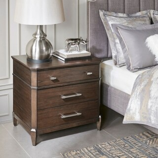 Madison Park Signature Baxter Brown 3 drawers Nightstand