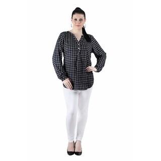 Qurvii Plaid long sleeves shirt
