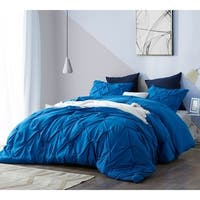 BYB Pacific Blue Pin Tuck Comforter