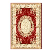 Safavieh Lyndhurst Traditional Oriental Red/ Ivory Rug - 3'3 x 5'3