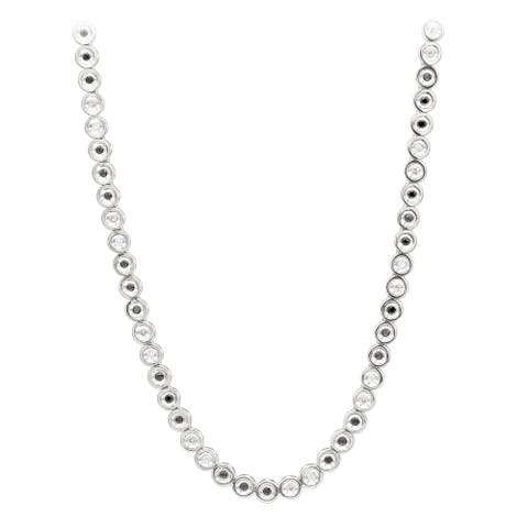 10K Gold White Yellow Black Diamond Chain Necklace for Men 5.5ctw by Luxurman