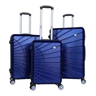 RivoLite Hardside Spinner Luggage Set with Lock (3-Piece)