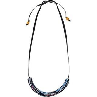 Handmade Okapi Necklace Black (Ghana)