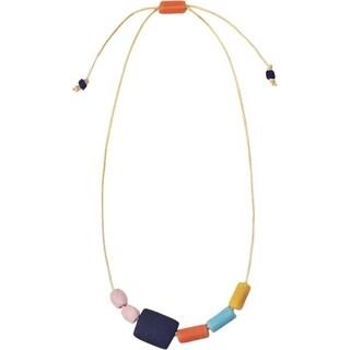 Handmade Kalahari Necklace Rainbow (Ghana)