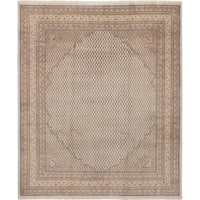 eCarpetGallery  Hand-knotted Royal Sarough Cream Wool Rug - 8'3 x 9'10