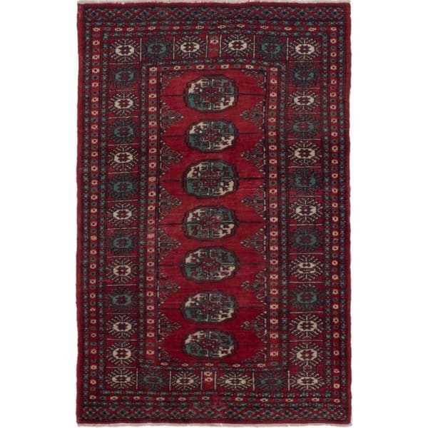 Shop eCarpetGallery Hand-knotted Pako Vintage Red Wool Rug - 3'0 x on