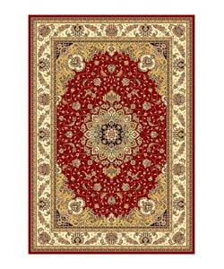 "Safavieh Lyndhurst Traditional Oriental Red/Ivory Rug (5'3"" x 7'6"")"