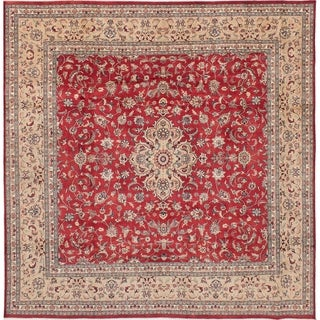 eCarpetGallery Hand-knotted Pako Vintage Red Wool Rug - 9'0 x 9'3