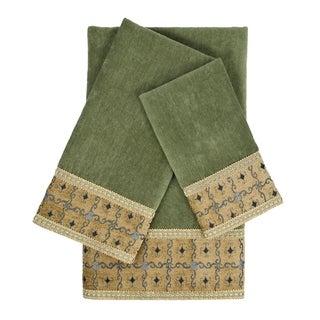 Link to Sherry Kline Gateway Sage 3-piece Embellished Towel Set Similar Items in Towels