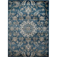 "Rug And Decor - Madison Traditional Light Blue Traditional Design Area Rug - 7'7"" x 10'6"""