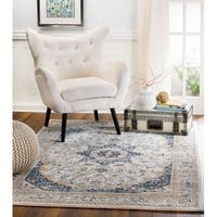 Rug And Decor - Madison Collection  Traditional Cream Area Rug - 2'3 x 8'
